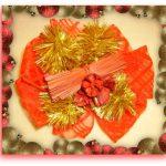 Fiocco chiudi pacco natalizio