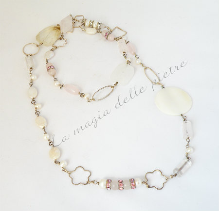 perle quarzo rosa