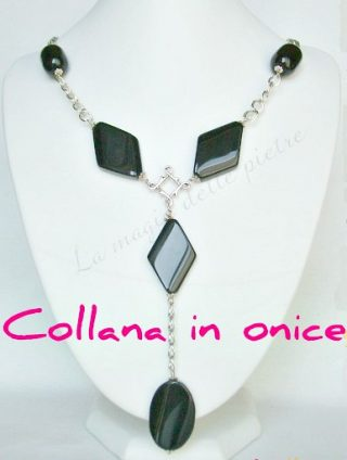 collana in onice