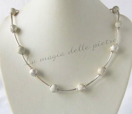 Parure in perle