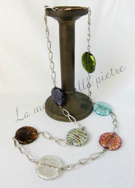 perle di vetro di Murano