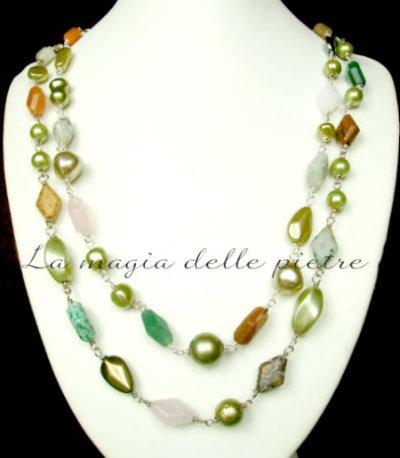 pietre e perle di vetro