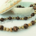 Perle di fiume oro