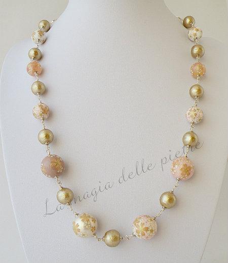 collana in perle tensha