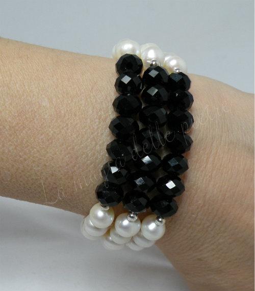 braccialetto in cristalli 1