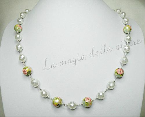 collana con perle tensha