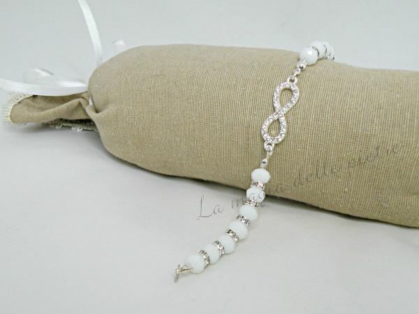 braccialetto con cristalli 1