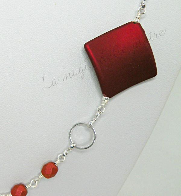 collana con perle rosse 1