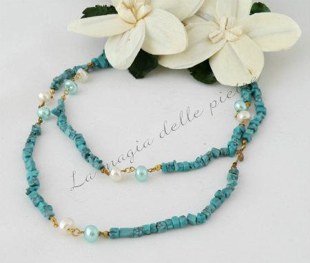 turchese e perle