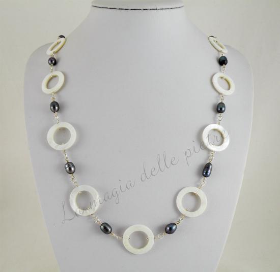 perle nere e madreperla